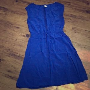 Royal blue Old Navy dress
